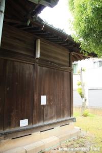 島氷川神社(足立区鹿浜)14