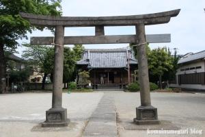 島氷川神社(足立区鹿浜)2