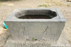 島氷川神社(足立区鹿浜)9