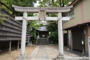 八幡神社(足立区鹿浜)3
