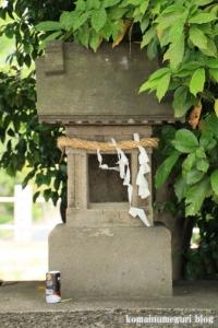 八幡神社(足立区鹿浜)11