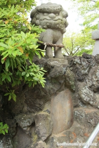 八幡神社(足立区鹿浜)16