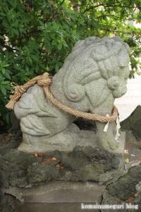 八幡神社(足立区鹿浜)14