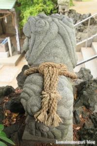 八幡神社(足立区鹿浜)15