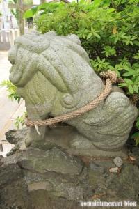 八幡神社(足立区鹿浜)18