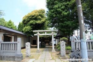 雷神社(足立区西新井)1