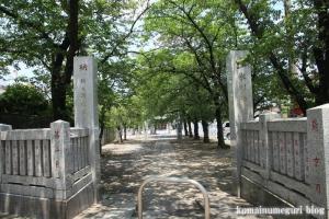 氷川神社(足立区堀之内)1
