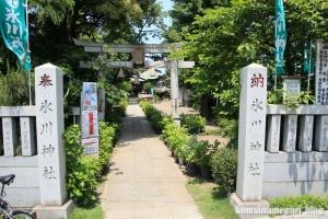氷川神社(足立区江北)1