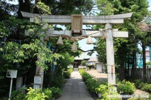 氷川神社(足立区江北)3