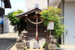 氷川神社(足立区江北)20