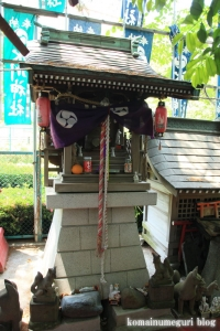 氷川神社(足立区江北)10