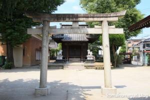 胡録神社(足立区本木南町)1