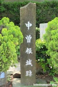 中曽根神社(足立区本木)3
