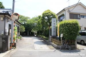 中曽根神社(足立区本木)1