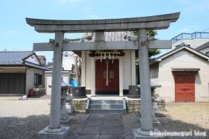 中曽根神社(足立区本木)8