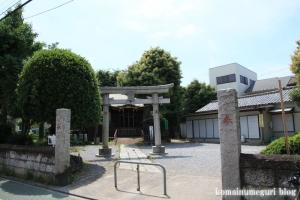 八幡神社(足立区関原)1