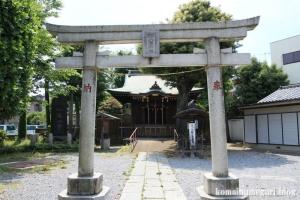 八幡神社(足立区関原)2