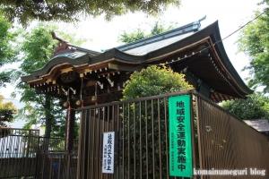 八幡神社(足立区関原)8