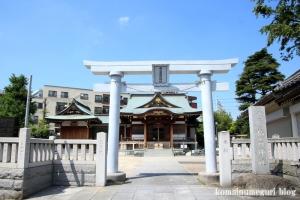 西之宮稲荷神社(足立区足立)1