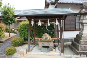 祟道(すどう)天皇社(奈良市西紀寺町)16