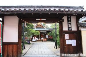 御霊神社(奈良市薬師堂町)4