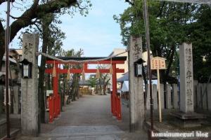 卒川(いさがわ)神社(奈良市本子守町)1