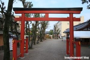 卒川(いさがわ)神社(奈良市本子守町)3