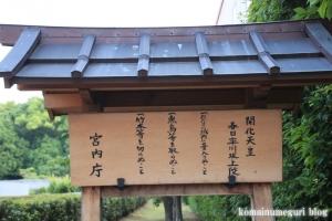 卒川(いさがわ)神社(奈良市本子守町)23