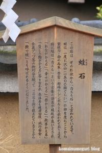卒川(いさがわ)神社(奈良市本子守町)7