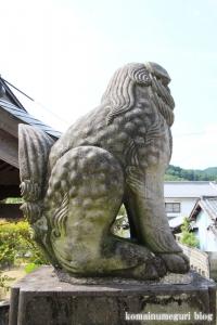 十二柱神社(桜井市出雲)10
