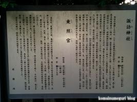 東照宮・諏訪神社(行田市本丸)22
