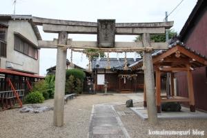 八幡宮(仁王堂八幡神社) (桜井市谷)1