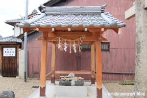 八幡宮(仁王堂八幡神社) (桜井市谷)3