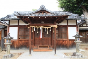 八幡宮(仁王堂八幡神社) (桜井市谷)4