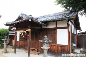 八幡宮(仁王堂八幡神社) (桜井市谷)6