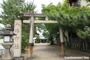 八幡神社(桜井市河合)1