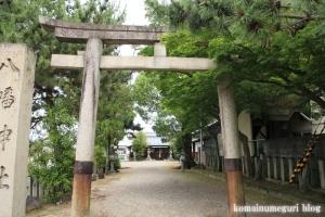 八幡神社(桜井市河合)3