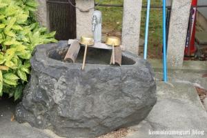 八幡神社(桜井市河合)4