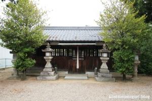 八幡神社(桜井市河合)5