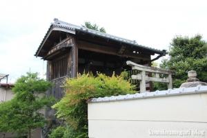 八幡神社(桜井市河合)8