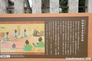 八幡神社(桜井市河合)11