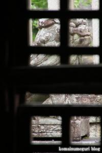 八幡神社(桜井市河合)10
