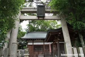 春日神社(桜井市戒重)1