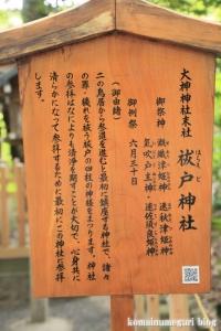 大神(おおみわ)神社(桜井市三輪)14