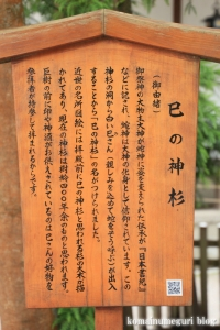大神(おおみわ)神社(桜井市三輪)29