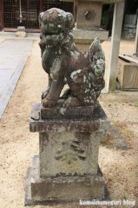国津神社(桜井市箸中)6