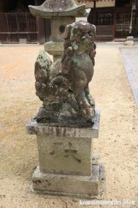 国津神社(桜井市箸中)10