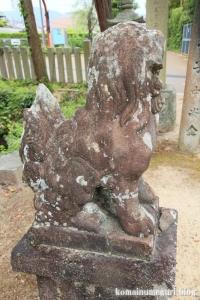 国津神社(桜井市箸中)8