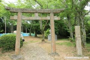 相撲神社(桜井市穴師)1