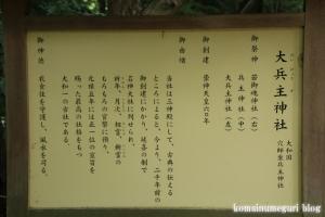 大兵主(だいひょうず)神社(桜井市穴師)4